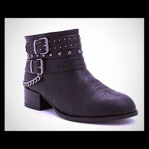 Torrid Studded Chain Booties size 11.5 W